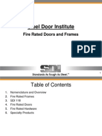 Fire Rated Doors and Frames Overview
