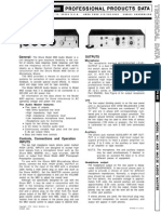 Shure m63 Audio Master Circuit Diagram