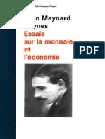 John Maynard Keynes-Essais Sur La Monnaie Et l'Économie -Payot (1990) (1)