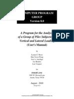 #Group 8 User Manual, Version 1