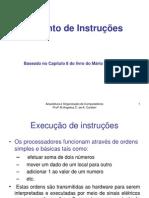 Capítulo 8 - Conjunto de Instruções.ppt