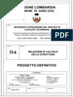 R4-Relazione Di Calcolo Delle Strutture_ESEC_ASSO