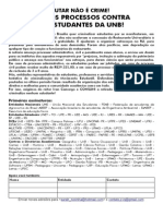 Manifesto UNB