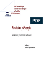 3-4Clase Nutricion y Energia-Cmto y Medios de Cultivo