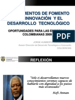 Financiacion Ley 1286 de 2009