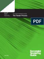 Tendering Guide the Tender Process