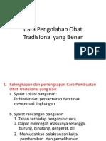 Cara Pengolahan Obat Tradisional yang Benar.pptx