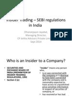Insider Trading PPT - 8 Sept 2014