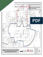TDIA Draft Boundary Map