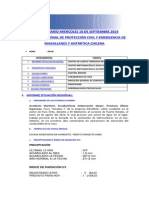 Informe Diario Onemi Magallanes 10.09.2014
