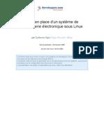 Systeme Messagerie Electronique Sous Linux