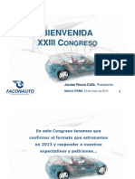Discurso de Bienvenida Del Presidente Jaume Roura 136