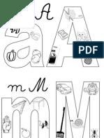 Alfabet Labirint Si Colorare Cu Imag