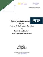 Manual CAJ 2010 Contexto de Encierro Cba
