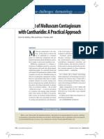 Mulluscum Contagiosum Cantharone Article