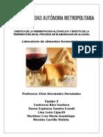 Efectos Del Alfa Amilasa en La Fermentacion
