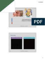 dr. azizah FKG_Nutrition in infancy & childhood