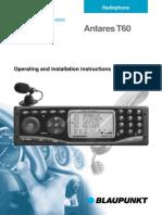 Antares T60 manual