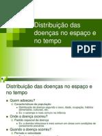 Distribuição Das Doenças No Tempo e No Espaço Aline