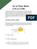 cNc/n ratio for satellite