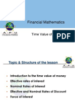 Lecture 1 Time Value of Money
