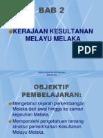 Bab 2 Kesultanan Melayu Melaka