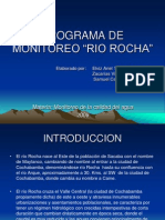 Programa Monitoreo Rio Rocha FINAL