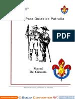 Manual Cursante Guia de Patrulla