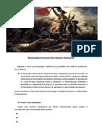 Declaração Universal Dos Direitos Humanos SEMINARIO