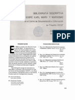 Bibliografia Descriptiva Sobre El Marxismo Leer Urgente!