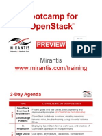2 Day Bootcamp for OpenStack - Mirantis