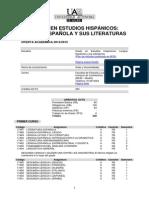 Grado Estudios Hispanicos