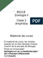 Zoologia II Clase 2 2013