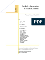 Statistic Education Research Journal