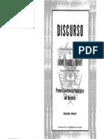 Discurso Inauguración Primera Conferencia Pedagógica Del Noroeste (1962) - Jaime Torres Bodet
