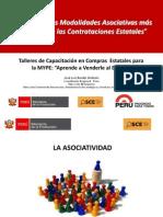 PPT Modalidades Asociativas PRODUCE