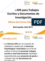 APA 2013 _ Capacitación Normas