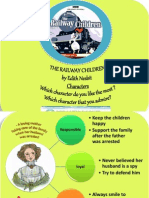 Ther Railway Character Ppt