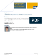 SAP BW Virtual Provider Implementation Class Based Approach with BRF+ Integration