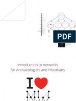 Introduction to network analysis for Archaeologists and Historians