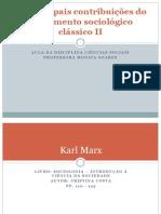 As Principais Contribuições Do Pensamento Sociológico Clássico II