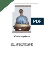 MAQUIAVELO ,El Príncipe