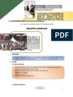 Boletín Logistico Final Setiembre-MIBEROAMERICANO