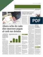 8 de Cada 10 Morosos Pagan Al Cash Sus Deuda_Gestión 10-09-2014