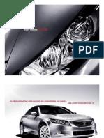 2008 Accord Sedan Brochure