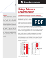 Voltage Reference  Selection Basics