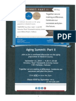 Aging Summit Part II