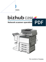 Bizhub c250 Um Scanner-operations en 1-1-0 Phase3