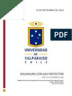 Soldaduras Con Gas Protector Con La Conclu!!!