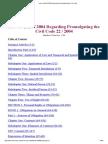 QATAR Law No (22) of 2004 Regarding Promulgating the Civil Code